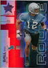 2007 Leaf Rookies & Stars Reggie Ball RC Longevity Ruby /199 Lions!