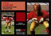 2001 Fleer Tradition Rookie Retro Threads #7 Andre Carter Jersey 49ers!