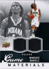 2009-10 Upper Deck Game Materials Dual Jersey #GJMD Marquis Daniels /479 Pacers!