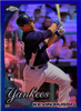 2010 Topps Chrome Blue Refractors #196 Kevin Russo RC /199 Yankees!
