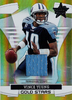 2008 Leaf Rookies and Stars Gold Stars Materials Jersey Vince Young 250/250 !!! Titans!