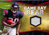2009 Upper Deck Game Day Gear #SL Steve Slaton Jersey Texans!