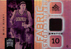2005-06 Reflections Fabrics Warm-Up Mike Bibby Kings!