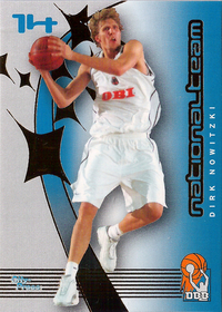 2002-03 BBL Playercards Nationalteam Dirk Nowitzki DBB !!!