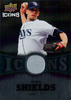 2009 Upper Deck Icons Jersey James Shields Rays!
