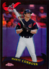 2002 Topps Chrome Black Refractors #33 Marty Cordova /50 Indians!