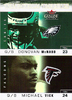 2003 Fleer Genuine Insider Touchdown Threats Donovan McNabb/Michael Vick
