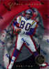 1997 Pinnacle Totally Certified Platinum Red #65 Cris Carter /4999 Vikings!
