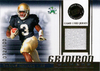 2007 Press Pass Gridiron Gamers Jerseys Gold Darius Walker /100 Notre Dame!