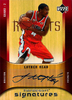 2005-06 UD Hardcourt Signatures Luther Head AU Rockets!