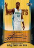2005-06 UD Hardcourt Signatures Luis Flores AU Nuggets!