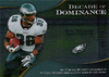 2009 UD Icons Decade of Dominance Silver Brian Westbrook /450 Eagles!