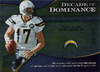 2009 UD Icons Decade of Dominance Silver Philip Rivers /450 Chargers!