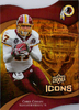 2009 UD Icons Gold Holofoil Die Cut #12 Chris Cooley /75 Redskins!