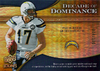 2009 UD Icons Decade of Dominance Gold Philip Rivers /130 Chargers!