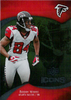 2009 UD Icons Gold Foil #100 Roddy White /125 Falcons!