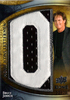 2009 UD Icons Movie Lettermen Patch Bruce Jenner /22 Actor/Track and Field Olympic Gold Medalist