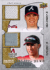 2009 UD Ballpark Coll. Dual Swatch Kelly Johnson/Felipe Lopez /400 Braves/Diamondbacks