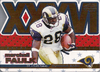 2001 Pacific Invincible Super Bowl XXXVI Marshall Faulk /499 Rams!
