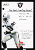2003 Fleer Platinum Pro Bowl Scouting Report #15 Jerry Rice /400 Raiders!