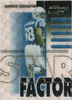2000 Quantum Leaf Star Factor #SF38 Marvin Harrison /2500 Colts!