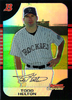 2005 Bowman Chrome Refractors #32 Todd Helton Rockies!