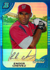 2005 Bowman Chrome Blue Refractors #216 Ender Chavez RC /150 Nationals!