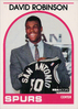 1989-90 Hoops #138 David Robinson SP RC Spurs!