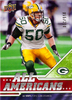 2009 Upper Deck Draft Edition Green #290 A.J. Hawk AA /350 Packers!