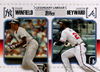 2010 Topps Legendary Lineage #LL61 Dave Winfield/ Jason Heyward Yankees/Braves!