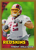 2010 Topps Gold #225 Trent Williams RC /2010 Redskins!