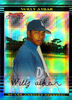 2002 Bowman Chrome X-Fractors #260 Willy Aybar /250 Dodgers!