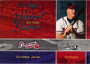 2003 Studio Spirit of the Game #19 Chipper Jones /1250 Braves!