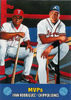2000 Topps Combos #TC9 MVP's Ivan Rodriguez/Chipper Jones