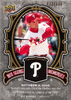 2009 UD A Piece of History Box Score Memories Black Pat Burrell /149 Phillies!