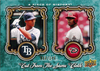 2009 UD A Piece of History Cut From The Same Cloth Green B.J. Upton/Justin Upton /149
