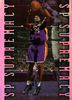 1999-00 SP Authentic Supremacy #S2 Shaquille O'Neal Lakers!