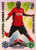 2010-11 Topps Match Attax Bundesliga Fan Favorit Papiss Demba Cissé SC Freiburg