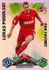 2010-11 Topps Match Attax Bundesliga Fan Favorit Lukas Podolski 1.FC Köln