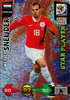 2010 Panini Adrenalyn XL FIFA World Cup Star Player Wesley Sneijder Nederland