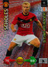 2009-10 Panini Super Strikes Champions League Star Player Paul Scholes Manchester United