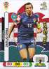 2012 Panini Adrenalyn XL EURO 2012 Star Player Darijo Srna Hrvatska