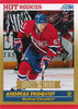 2010-11 Score Gold #604 Andreas Engqvist Rookie Canadiens!