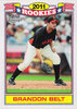 2011 Topps Lineage Rookies #TR11 Brandon Belt Giants!