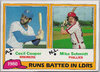 1981 Topps #3 Cecil Cooper/Mike Schmidt LL EX Brewers/Phillies!