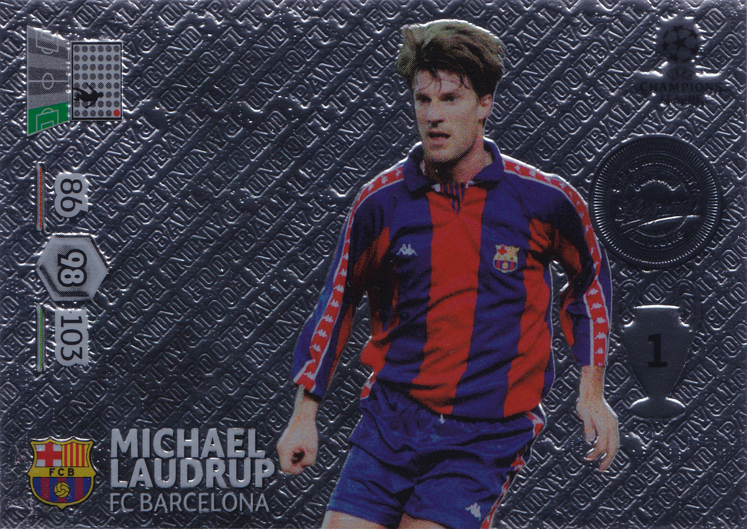 2012 13 Panini Adrenalyn XL Champions League Legend Michael