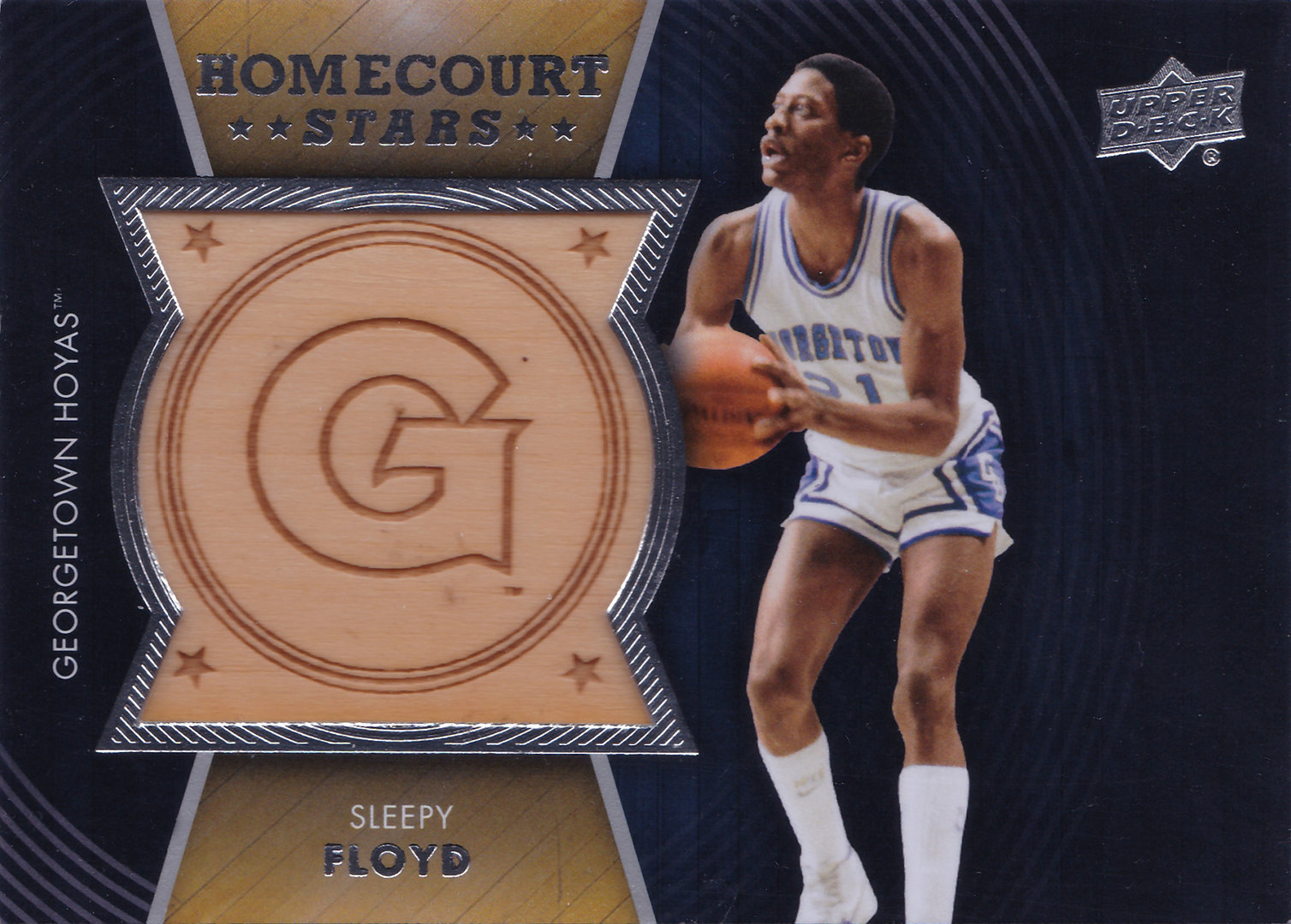 2014 15 Upper Deck Lettermen Home Court Stars HSSF Sleepy Floyd