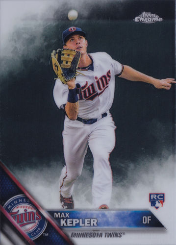 2016 Topps Chrome #138 Max Kepler RC Twins!