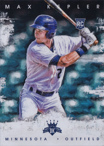 2016 Diamond Kings #167 Max Kepler RC Twins!