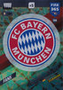 2018 Panini FIFA 365 Adrenalyn XL Club Badge Bayern München